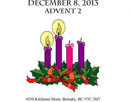 Bulletin: December 8, 2013
