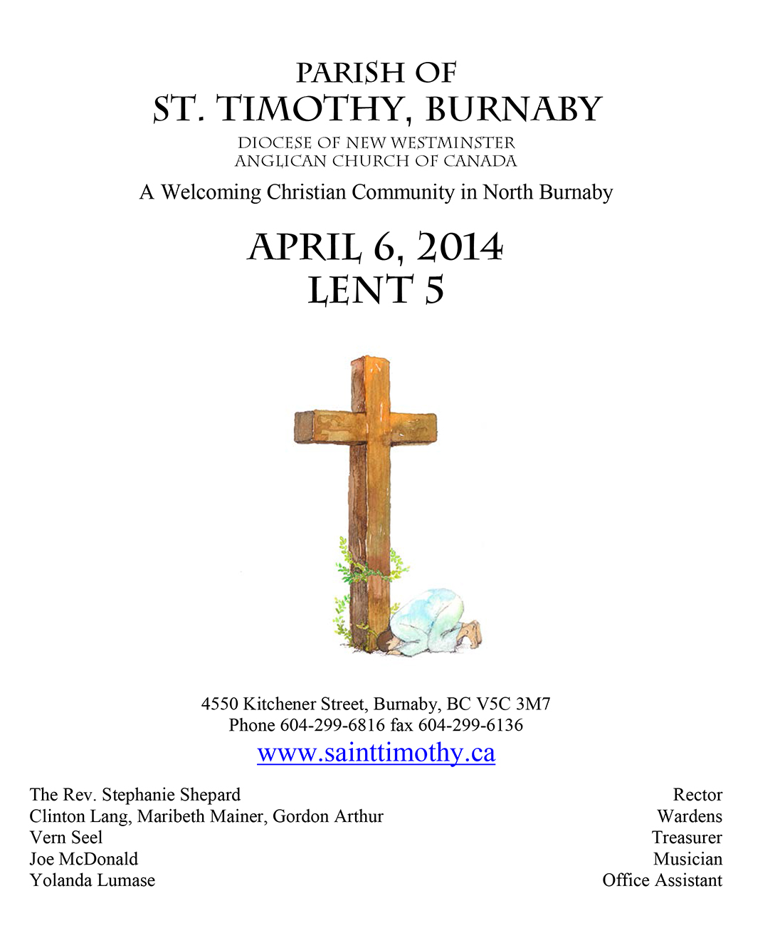Bulletin: April 6, 2014