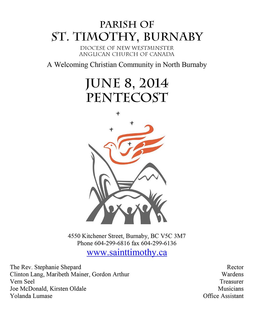 Bulletin: June 8, 2014