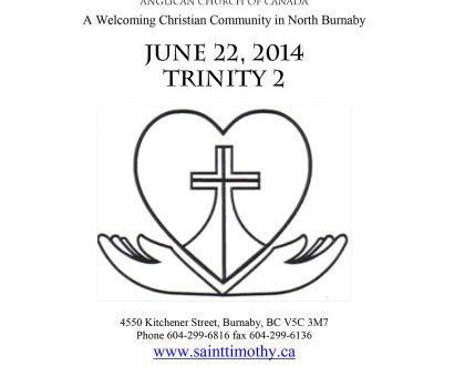 Bulletin: June 22, 2014