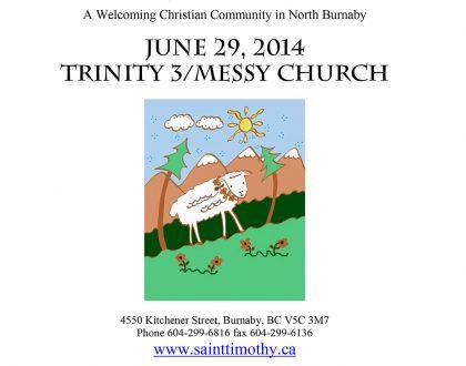Bulletin: June 29, 2014