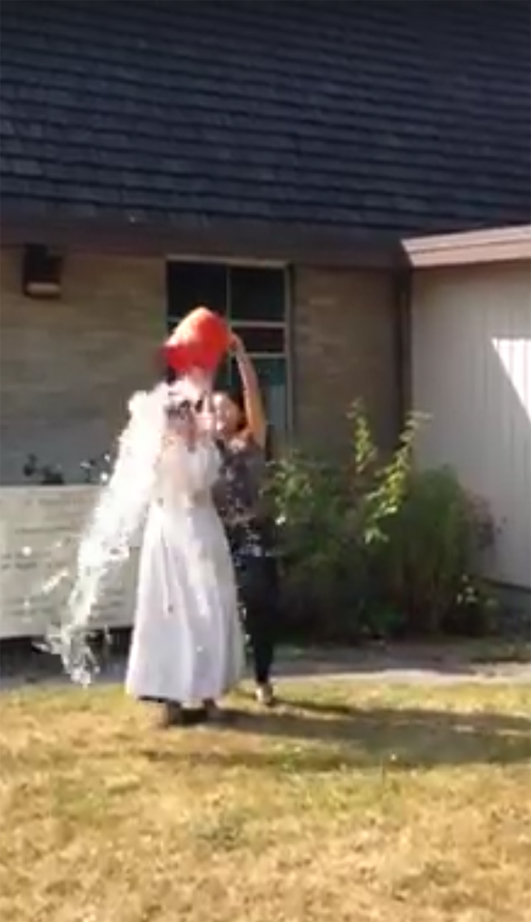 Announcement: The Rector Takes the ALS Challenge