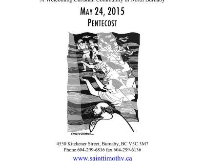 Bulletin: May 24, 2015