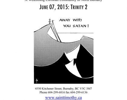 Bulletin: June 7, 2015