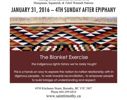 Bulletin: January 31, 2016
