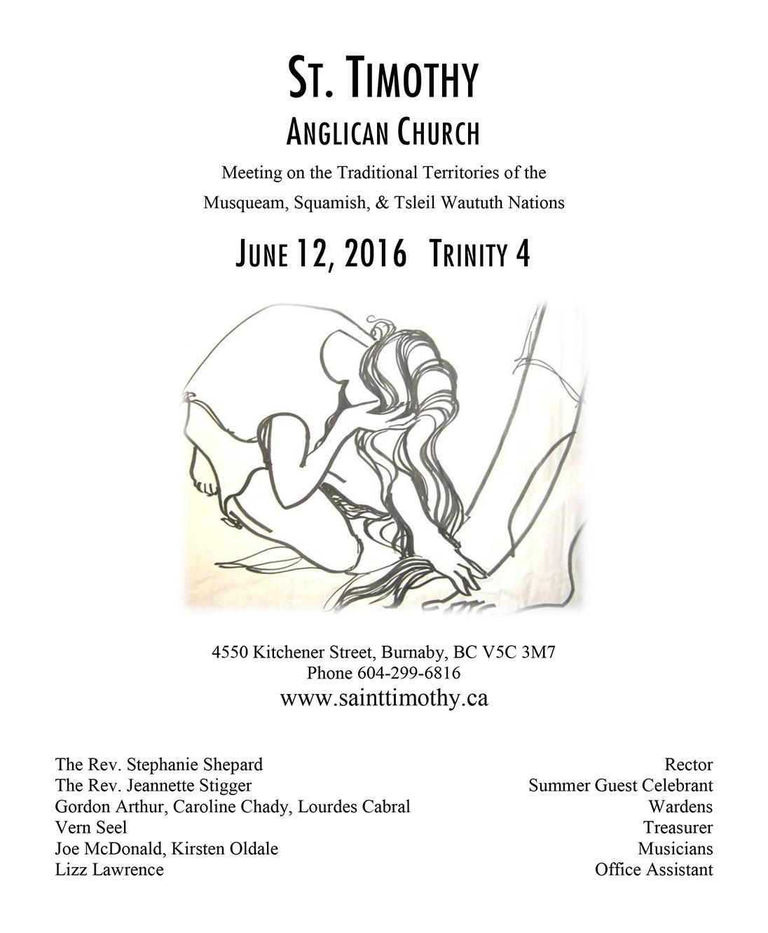 Bulletin: June 12, 2016