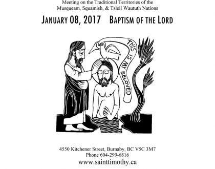 Bulletin: January 8, 2017