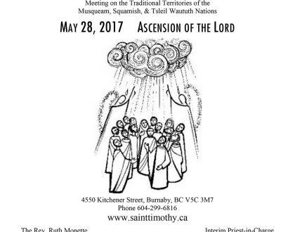 Bulletin: May 28, 2017