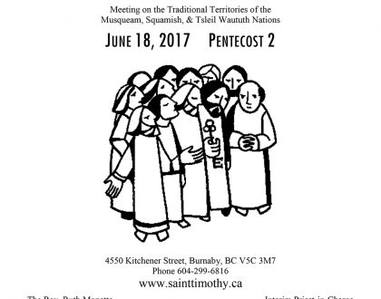 Bulletin: June 18, 2017