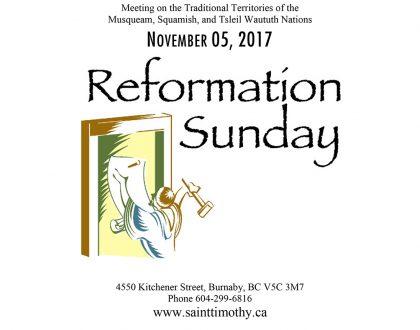 Bulletin: November 5, 2017