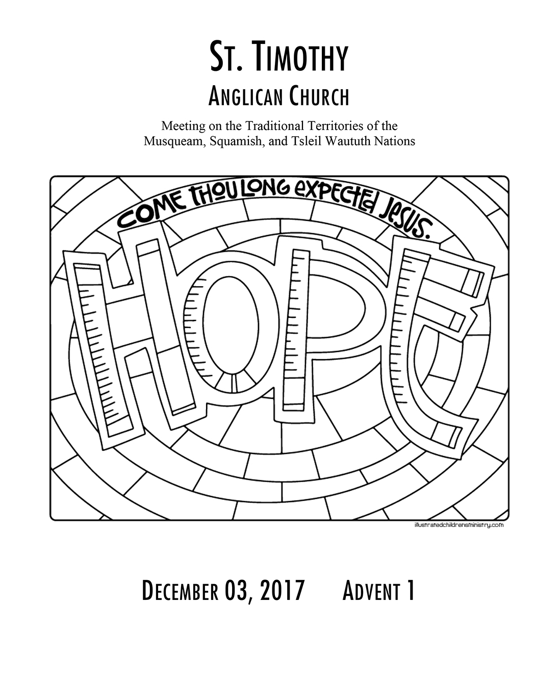 Bulletin: December 3, 2017