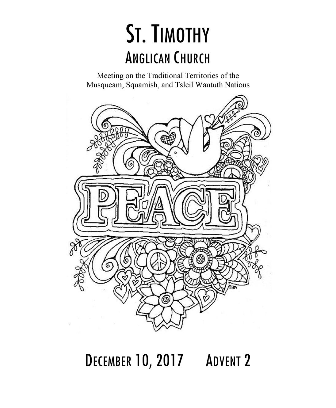 Bulletin: December 10, 2017
