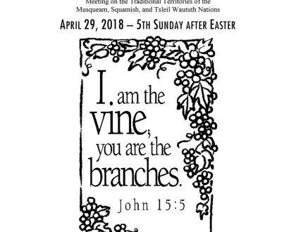 Bulletin: April 29, 2018