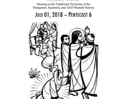 Bulletin: July 1, 2018