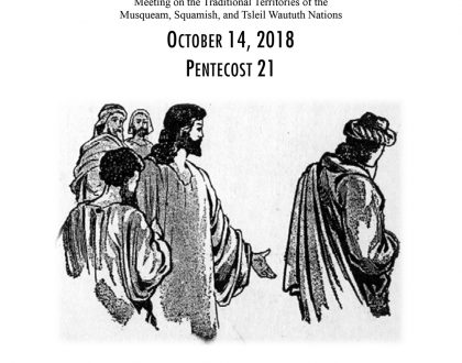 Bulletin: October 14, 2018