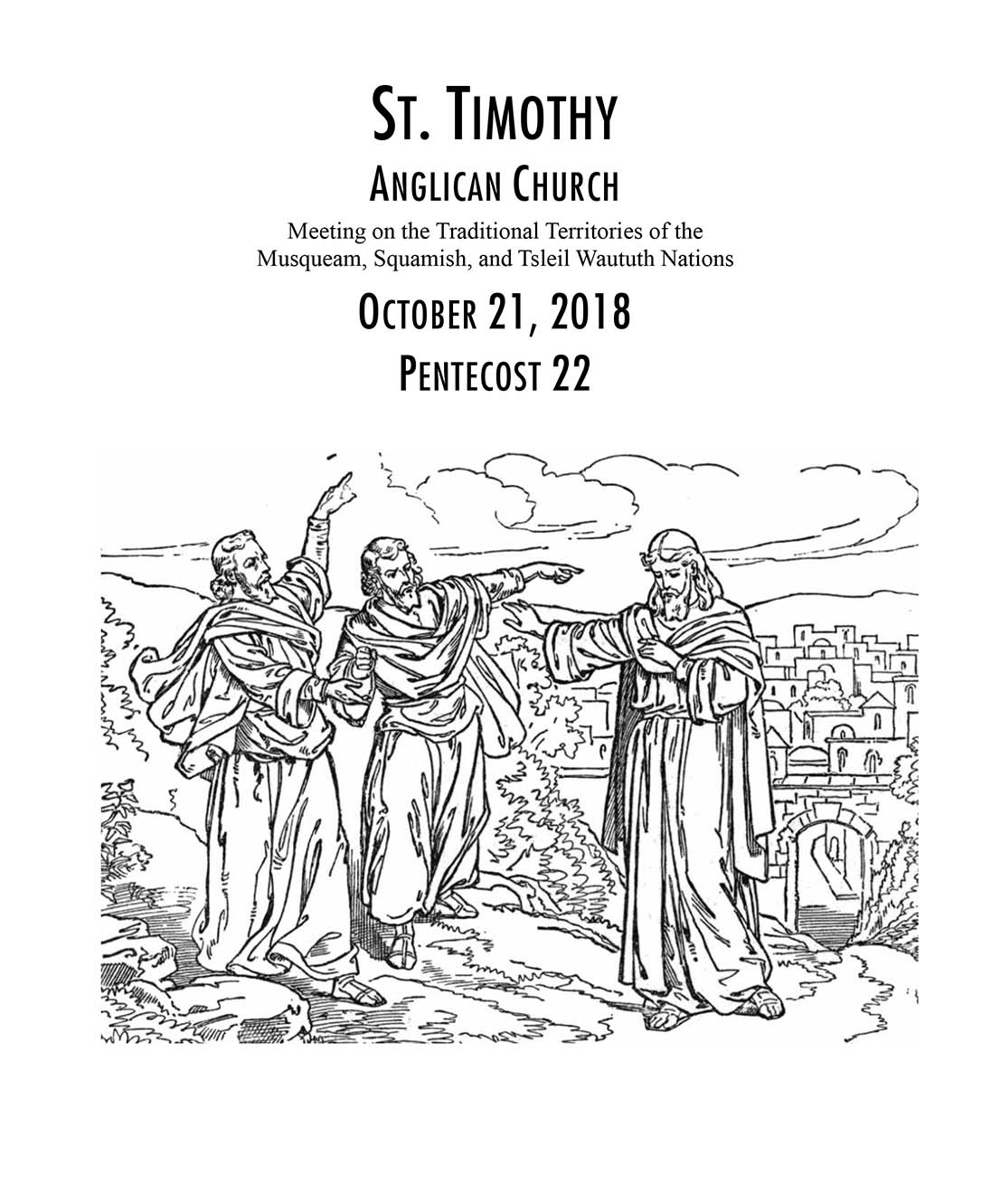 Bulletin: October 21, 2018