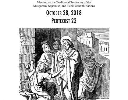 Bulletin: October 28, 2018