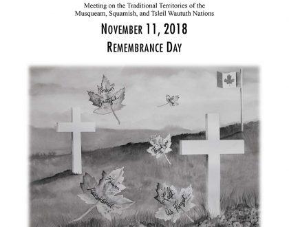 Bulletin: November 11, 2018