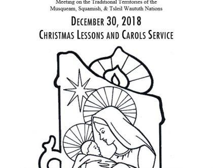 Bulletin: December 30, 2018