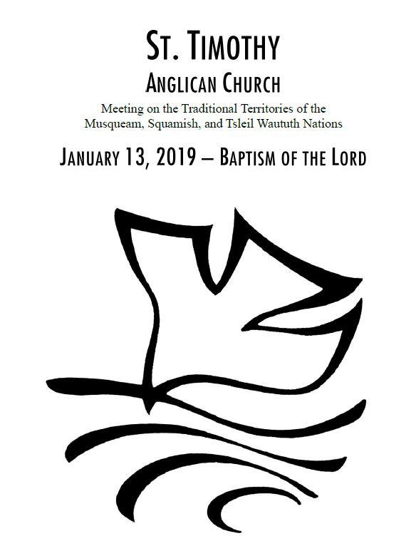Bulletin: January 13, 2019
