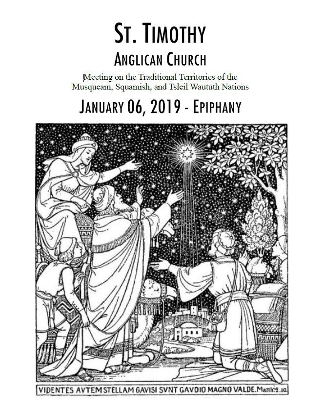 Bulletins: January 6, 2019