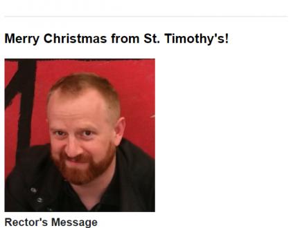 Newsletter: Christmas 2019